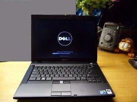 Dell business laptop Intel 2 x 2.4ghz , web camera Windows 7, office