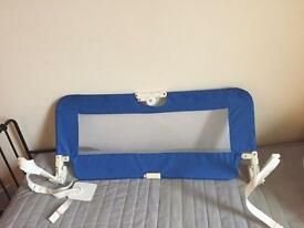 Babystart blue bed guard