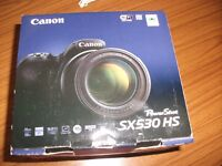 Canon SX530 HS digital camera. Brand new, Complete with battery charger/ pack,neck strap .