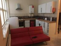 Furnished One bed studio flat to rent in Newport.