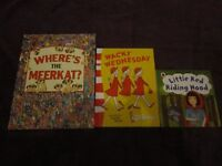 3 children's books in very good condition