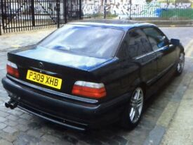 Black metallic BMW
