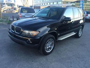 2006 BMW X5 3.0i,AUTO,A/C,ALL POWER OPTIONS ,LEATHER AND SUN R
