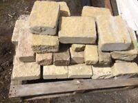 Approx 3m3 anstone blocks