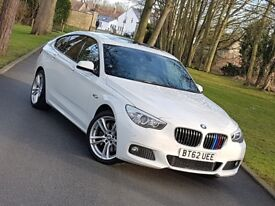 BMW 5 Series Gran Turismo 2.0 520d M Sport GT (s/s) 5dr, 2013, 1 OWNER, F/BMW/SH, PX WELCOME