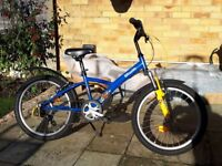 Childs Bike 20 inch wheel in immaculate condition.