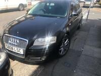 2008 08reg Audi A3 2.0 Tdi Sport 180bhp Black April Mot