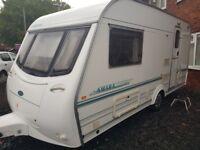 Coachman amara 2 berth caravan 2000