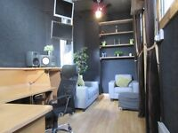 Office/Studio/Workspace,Self Contained,£114 pw inc Rates,Cheap extra storage available with Unit.