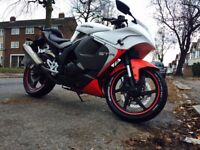 Hyosung GT125R in a great condition with low 5475 milage