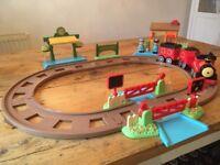 For Sale: ELC HappyLand Train set and motorised train