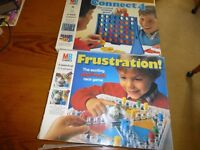 Frustration and Connect 4 games