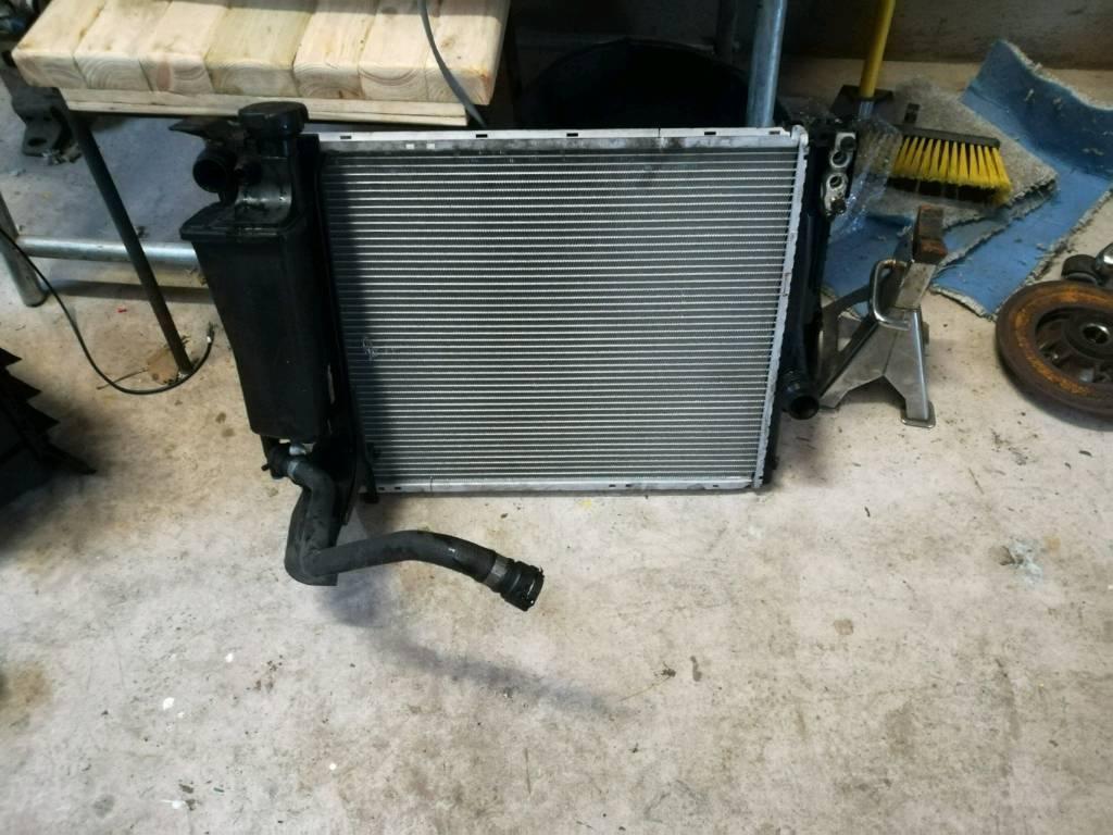 e46 manual fan removal