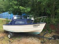 Mayland 16 Cabin Cruiser Fishing Boat