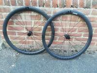 Reynolds Assault LE carbon wheels, for disk brakes, unused