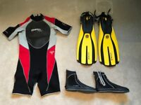 Mares Tropic 2.5 Mens shorty wetsuit - XL.