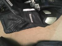 Motorcycle leathers
