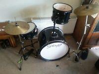 Stagg drum kit 5 piece