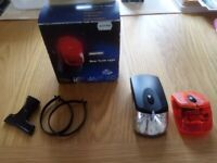 Bicycle Accessories Joblot: 3 Bicycle Lights (one unused) +.....