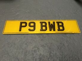 PRIVATE REG PLATE FOR SALE...