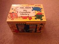 Mr Men My Library Complete book set
