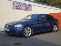 2005 BMW 330D M SPORT AUTO SALOON NATIONWIDE DELIVERY, WARRANTY, MINIMUM £200 PART EX, BARGAIN PRICE