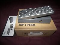 Fender Guitar Effects EXP1 Expression Pedal / Brand New !