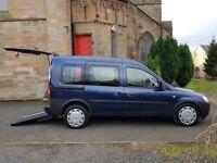2012 Vauxhall Combo Tour 1.3 Cdti Diesel Auto ⭐⭐ Wheelchair Access Vehicle ⭐⭐