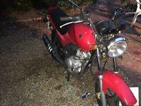 Yamaha ybr125 for swaps only