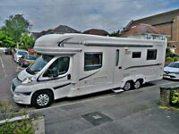 Auto Trail Comanche four berth motorhome with fixed island bed.