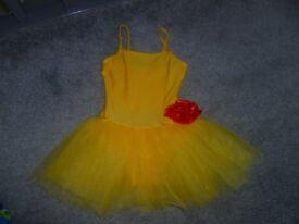 Yellow ballet tutu aged 9-10 years