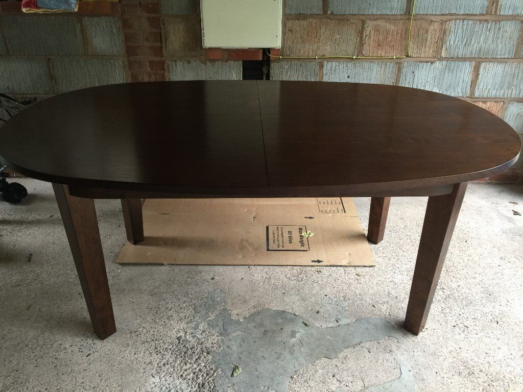 Laura ashley garrat chestnut oval dining room table in stafford laura ashley garrat chestnut oval dining room table geotapseo Choice Image