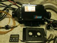 Campervan motorhome 12 volt diesel night heater