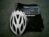 Boardman carbon fibre cycle helmet