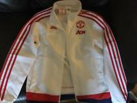 Man Utd Tracksuit Top (kids)