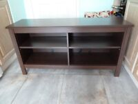 Ikea Brusali TV /Stereo stand-- Brown 120cm long /620cm high/360cm deep