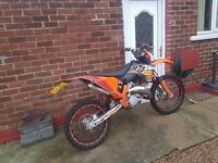 Ktm sx 125 2007 road legal