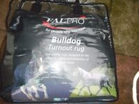 "Horse Winter Turnout Rug 6'3"" New Fal Pro Bulldog 350g"