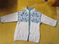 ALAFOSS of Iceland 100% wool double liner cardigan/coat, size M-L.
