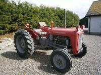 MF 35 3 CYLD TRACTOR