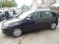 Volkswagen GOLF S TDI,new shape,5 dr hatchback,1 previous owner,2 keys,full MOT,runs and drives well