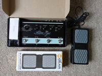 TC ELECTRONIC ALTER EGO X4 WITH EXPRESSION PEDAL - Mint condition with original accesories