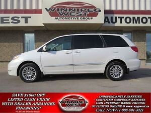 2007 Toyota Sienna LIMITED EDITION, ALL WHEEL DRIVE, SUNROOF,LEA