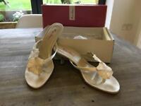 Bridal shoes size 6