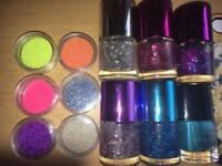 Nail polish & accessories bundle