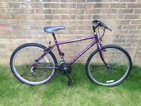 Ladies Bicycle, Helmet, Lock, Bell and Seat Cushion
