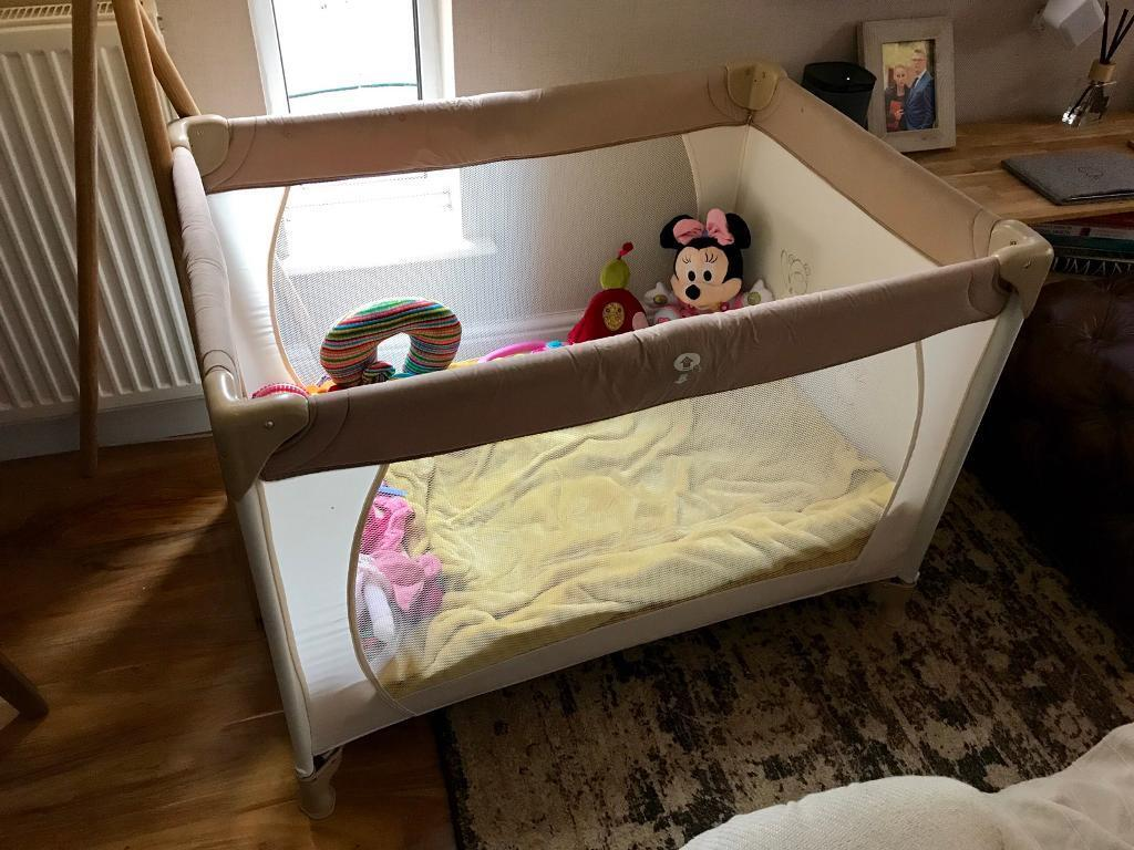 Next baby travel cot crib playpen