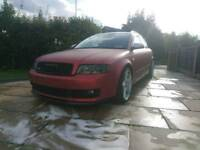 Audi A4 1.8T Quattro Avant! Wrapped Matte Red - 190bhp! BRAND NEW CLUTCH and FULL SERVICE!!