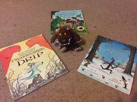 Julia Donaldson Book Bundle plus Gruffalo soft toy