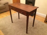 Vintage Console (Hall) Table with Drawer